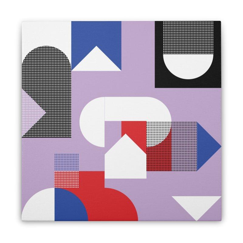 Kaleidoscope Design Series 1, Poster 19 Home Stretched Canvas by Madeleine Hettich Design & Illustration