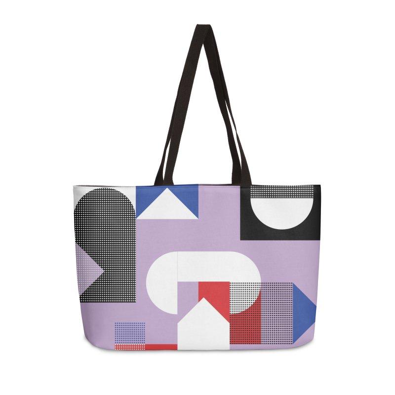 Kaleidoscope Design Series 1, Poster 19 Accessories Weekender Bag Bag by Madeleine Hettich Design & Illustration