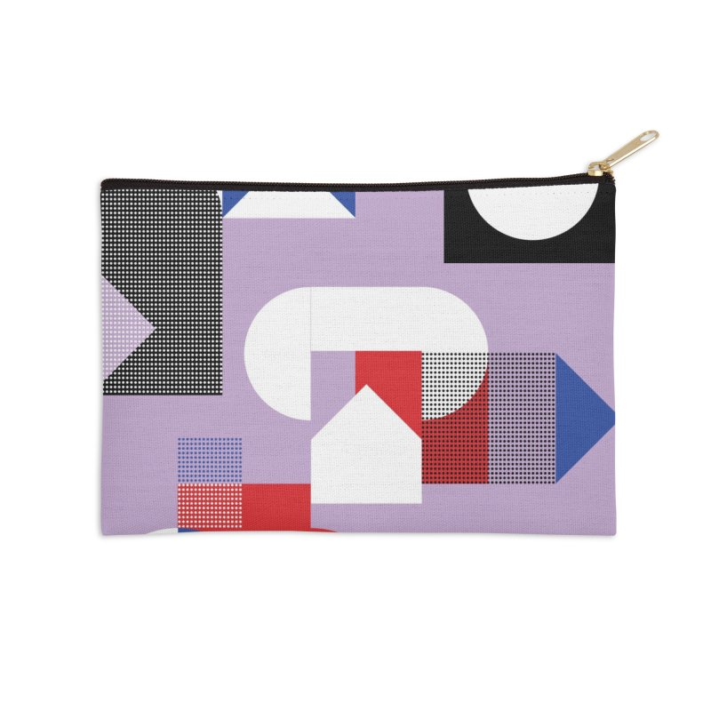 Kaleidoscope Design Series 1, Poster 19 Accessories Zip Pouch by Madeleine Hettich Design & Illustration
