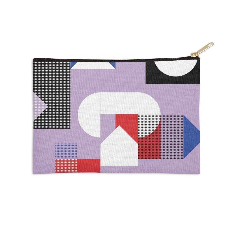 Kaleidoscope Design Series 1, Poster 19 Accessories Zip Pouch by Madeleine Hettich Design & Illustration