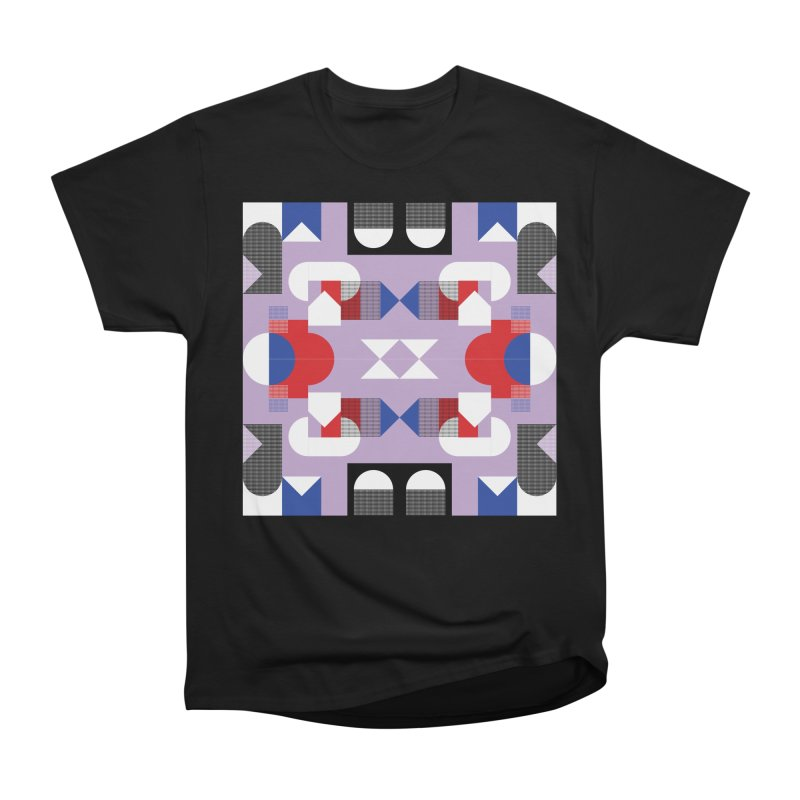 Kaleidoscope Design Series 1, Poster 18 Women's Heavyweight Unisex T-Shirt by Madeleine Hettich Design & Illustration