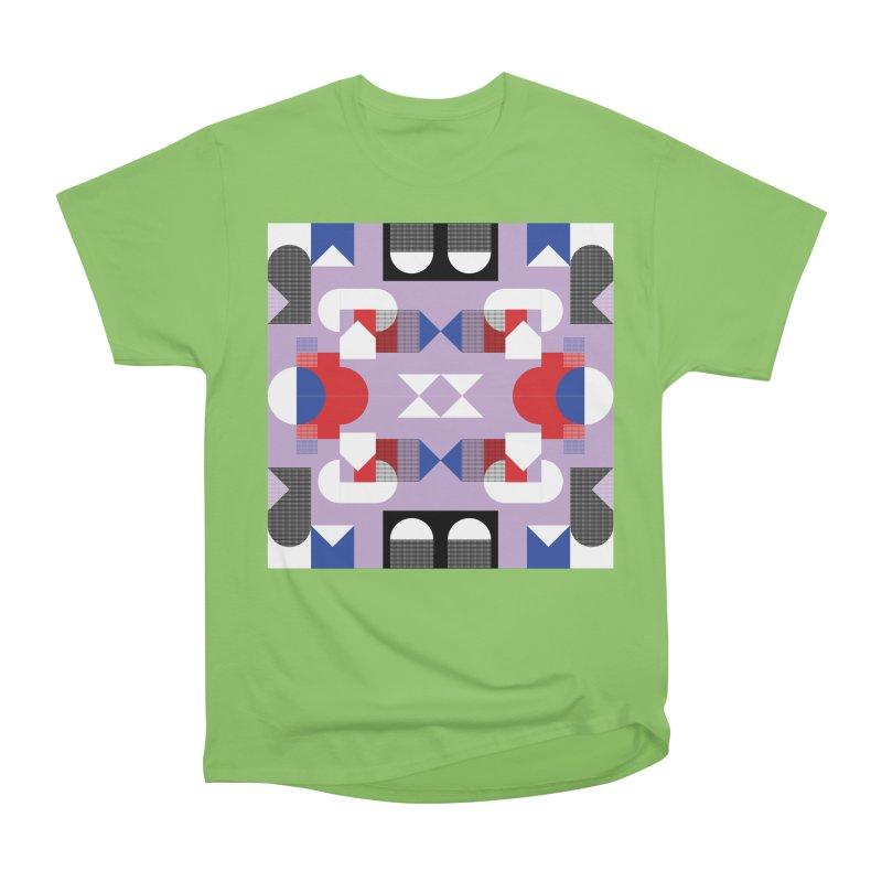 Kaleidoscope Design Series 1, Poster 18 Women's Heavyweight Unisex T-Shirt by Madeleine Hettich Design & Illustration