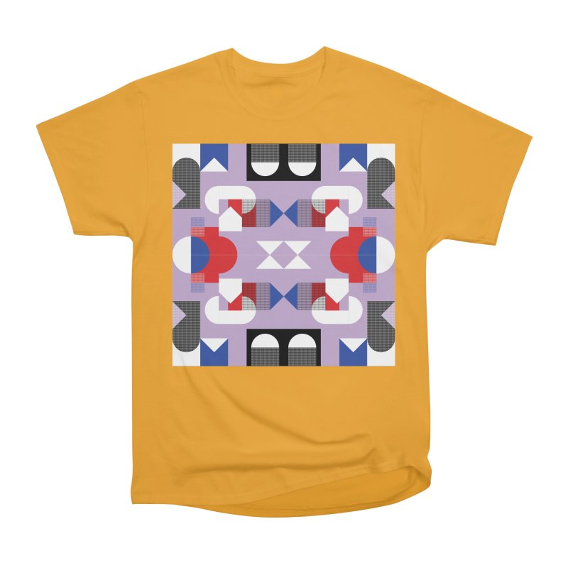 Kaleidoscope Design Series 1, Poster 18 Men's Heavyweight T-Shirt by Madeleine Hettich Design & Illustration