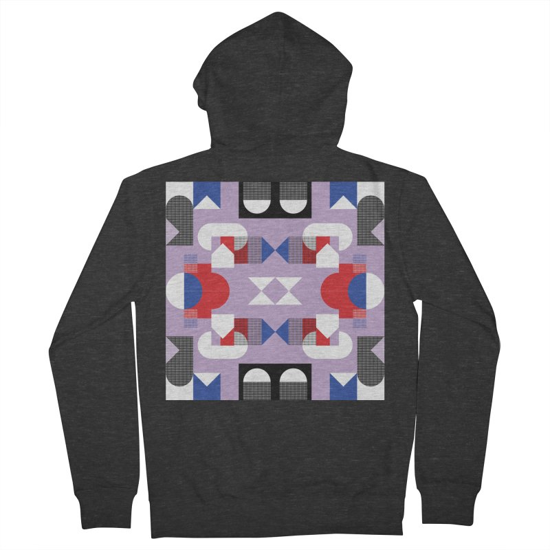 Kaleidoscope Design Series 1, Poster 18 Women's French Terry Zip-Up Hoody by Madeleine Hettich Design & Illustration