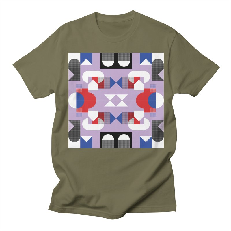 Kaleidoscope Design Series 1, Poster 18 Women's Regular Unisex T-Shirt by Madeleine Hettich Design & Illustration