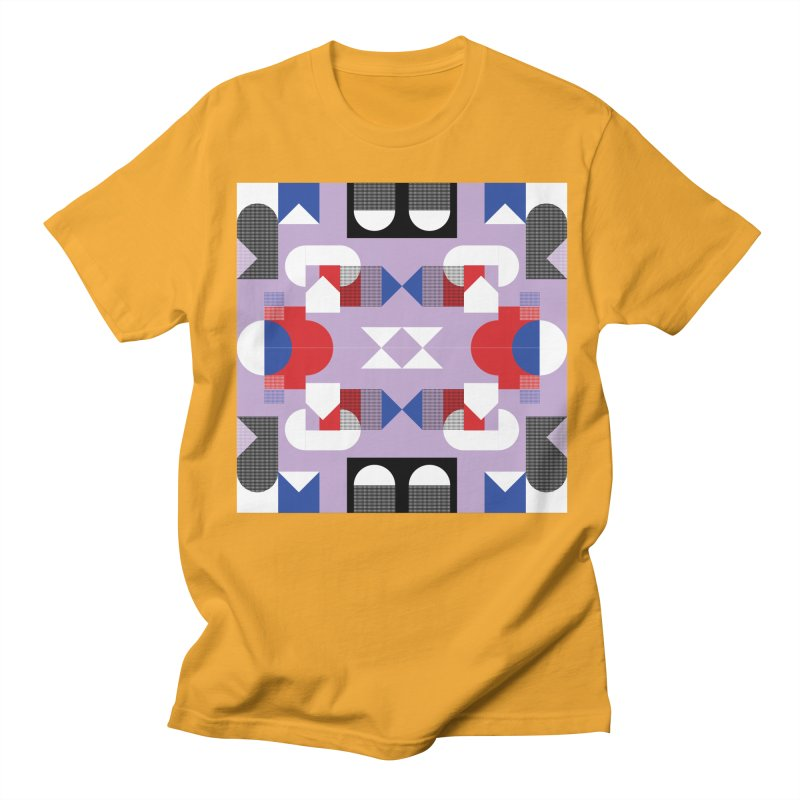 Kaleidoscope Design Series 1, Poster 18 Men's Regular T-Shirt by Madeleine Hettich Design & Illustration