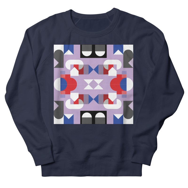 Kaleidoscope Design Series 1, Poster 18 Men's French Terry Sweatshirt by Madeleine Hettich Design & Illustration