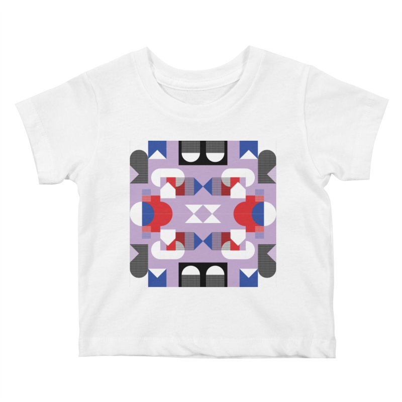 Kaleidoscope Design Series 1, Poster 18 Kids Baby T-Shirt by Madeleine Hettich Design & Illustration