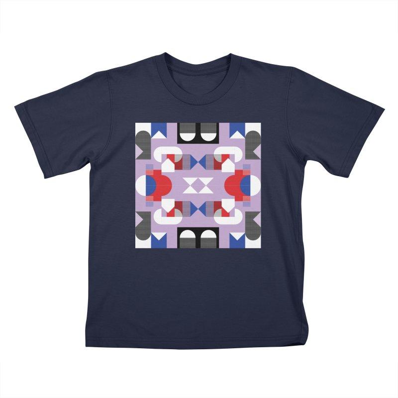 Kaleidoscope Design Series 1, Poster 18 Kids T-Shirt by Madeleine Hettich Design & Illustration