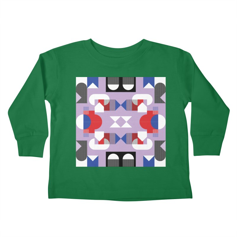 Kaleidoscope Design Series 1, Poster 18 Kids Toddler Longsleeve T-Shirt by Madeleine Hettich Design & Illustration