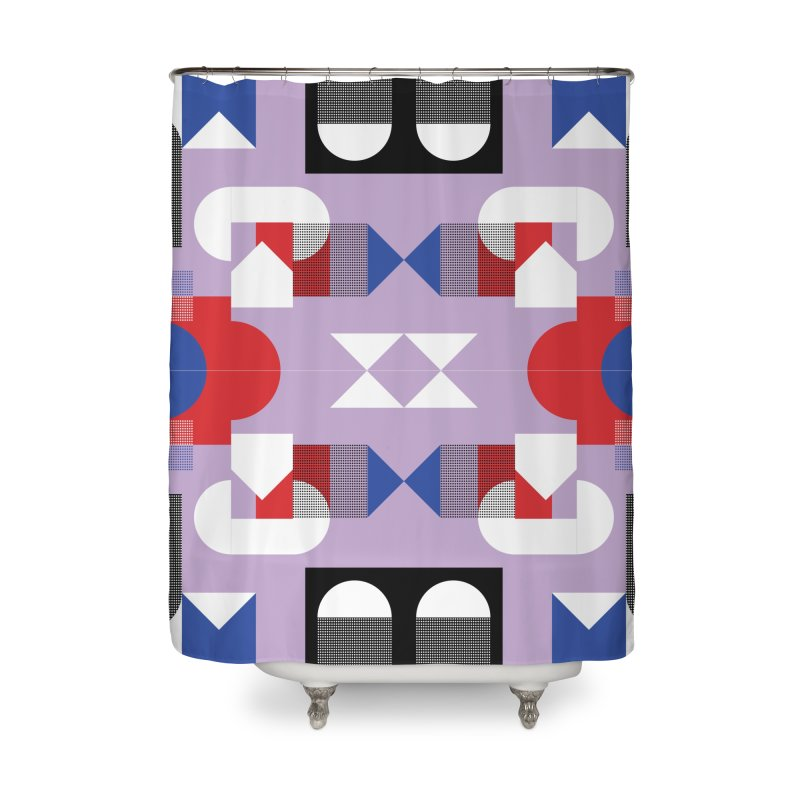 Kaleidoscope Design Series 1, Poster 18 Home Shower Curtain by Madeleine Hettich Design & Illustration