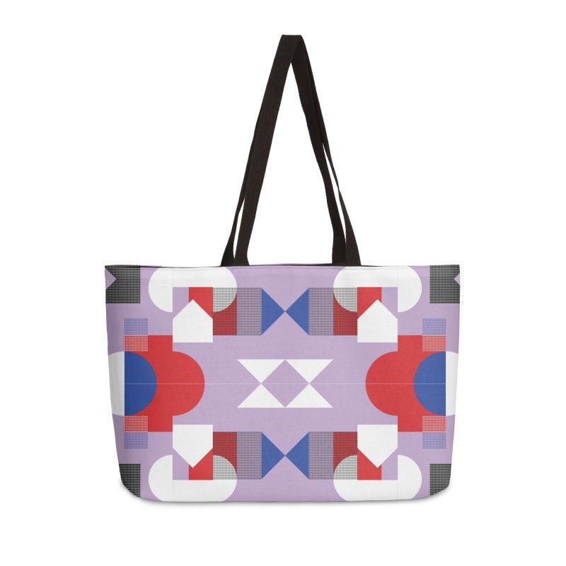 Kaleidoscope Design Series 1, Poster 18 Accessories Weekender Bag Bag by Madeleine Hettich Design & Illustration