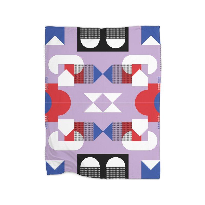 Kaleidoscope Design Series 1, Poster 18 Home Blanket by Madeleine Hettich Design & Illustration