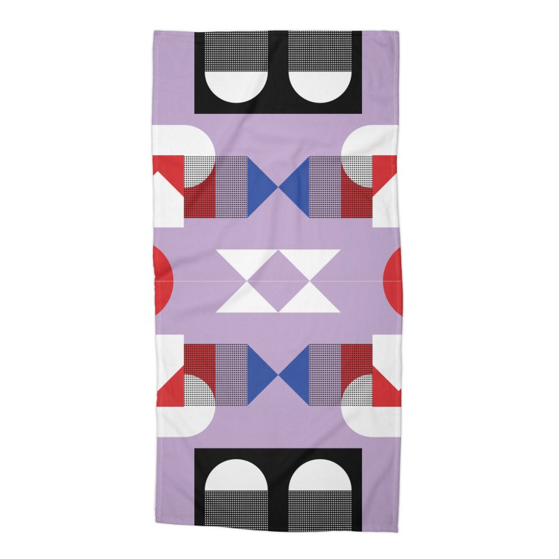 Kaleidoscope Design Series 1, Poster 18 Accessories Beach Towel by Madeleine Hettich Design & Illustration