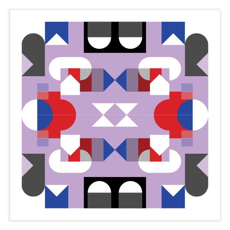 Kaleidoscope Design Series 1, Poster 18 Home Fine Art Print by Madeleine Hettich Design & Illustration