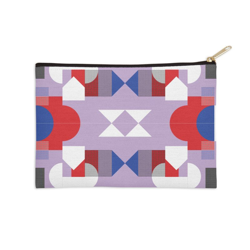 Kaleidoscope Design Series 1, Poster 18 Accessories Zip Pouch by Madeleine Hettich Design & Illustration
