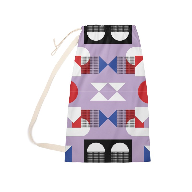 Kaleidoscope Design Series 1, Poster 18 Accessories Laundry Bag Bag by Madeleine Hettich Design & Illustration