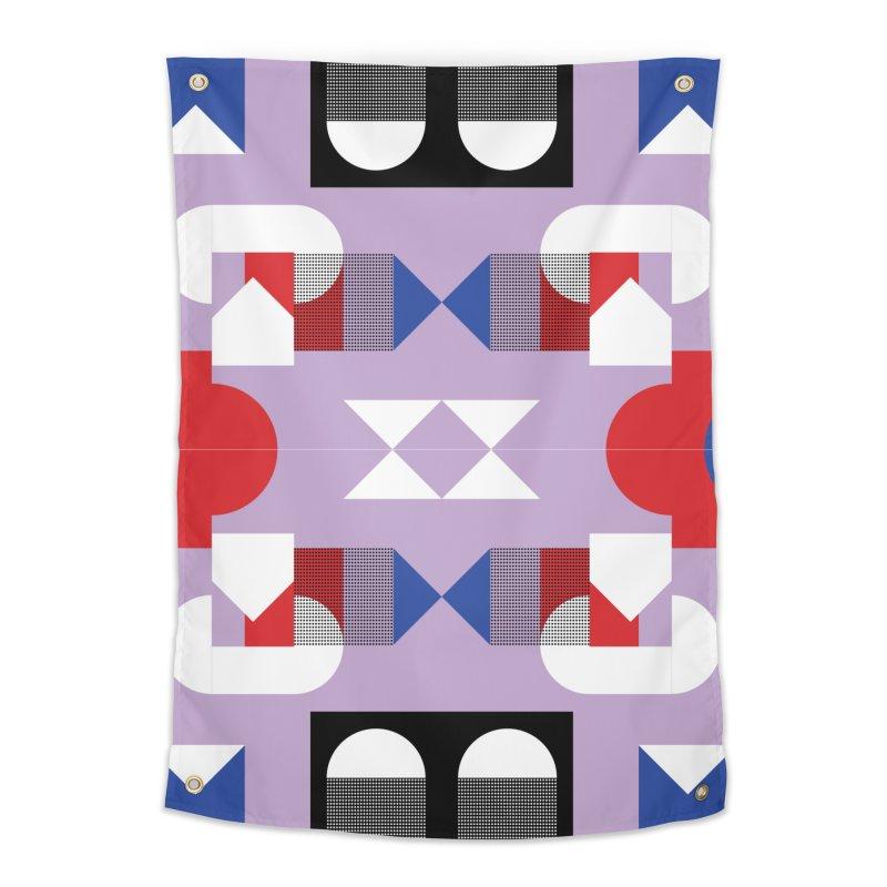Kaleidoscope Design Series 1, Poster 18 Home Tapestry by Madeleine Hettich Design & Illustration