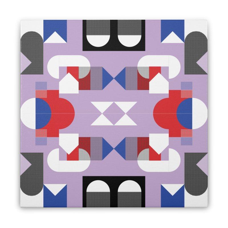 Kaleidoscope Design Series 1, Poster 18 Home Stretched Canvas by Madeleine Hettich Design & Illustration