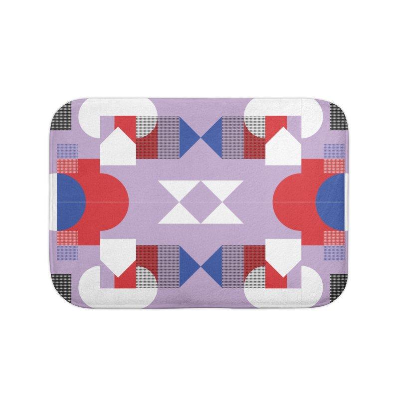 Kaleidoscope Design Series 1, Poster 18 Home Bath Mat by Madeleine Hettich Design & Illustration