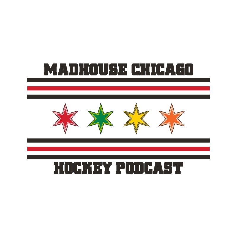 Old School Madhouse Logo by Madhouse Chicago Hockey Podcast Shop