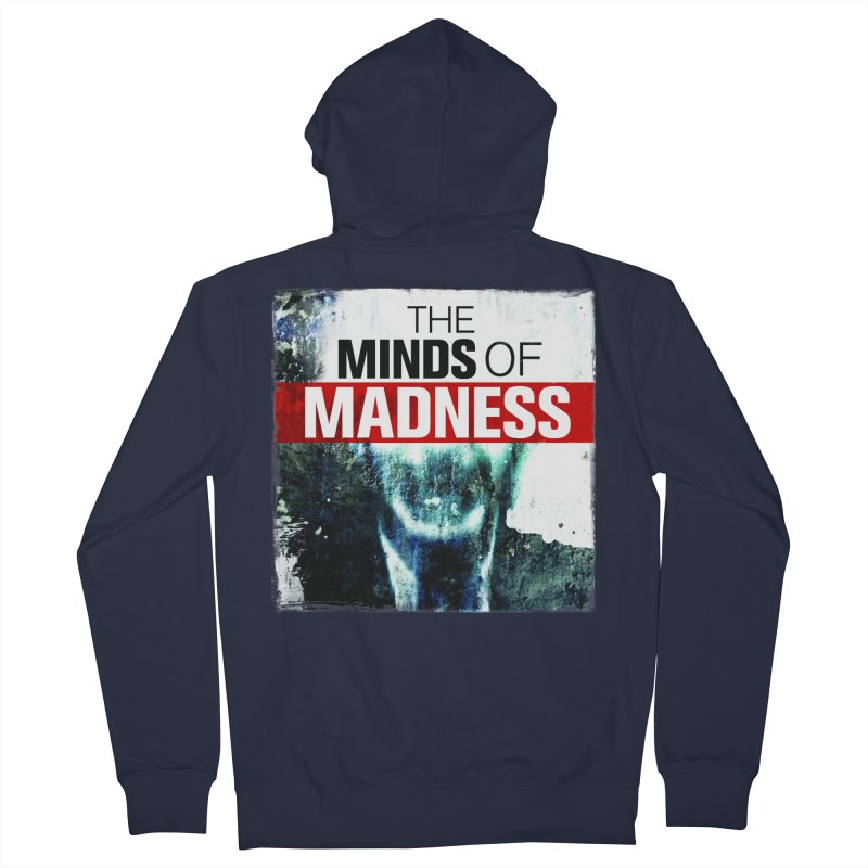 Choose items with - Maddie Men's French Terry Zip-Up Hoody by The Minds Of Madness Podcast