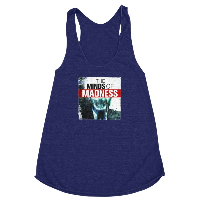 Choose items with - Maddie Women's Racerback Triblend Tank by The Minds Of Madness Podcast
