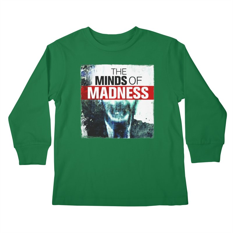 Choose items with - Maddie Kids Longsleeve T-Shirt by The Minds Of Madness Podcast