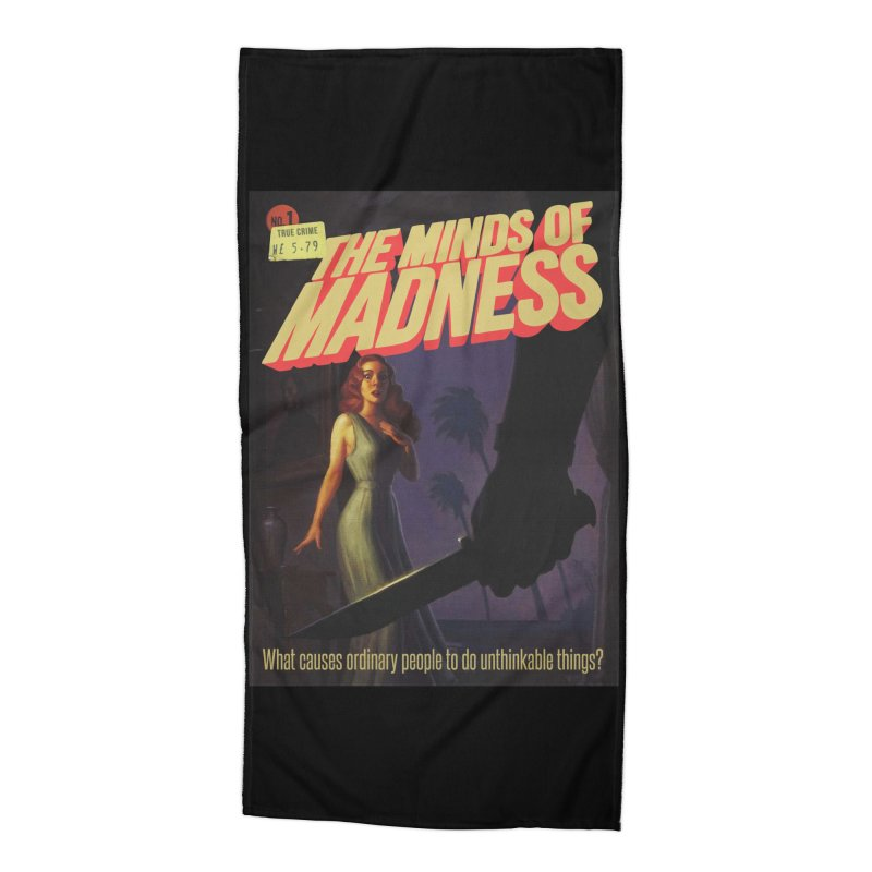 Choose items with -The Barney Art Accessories Beach Towel by The Minds Of Madness Podcast
