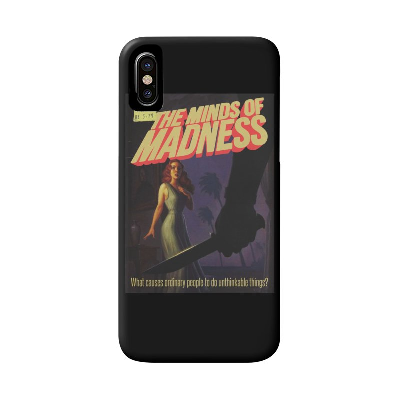 Choose items with -The Barney Art Accessories Phone Case by The Minds Of Madness Podcast