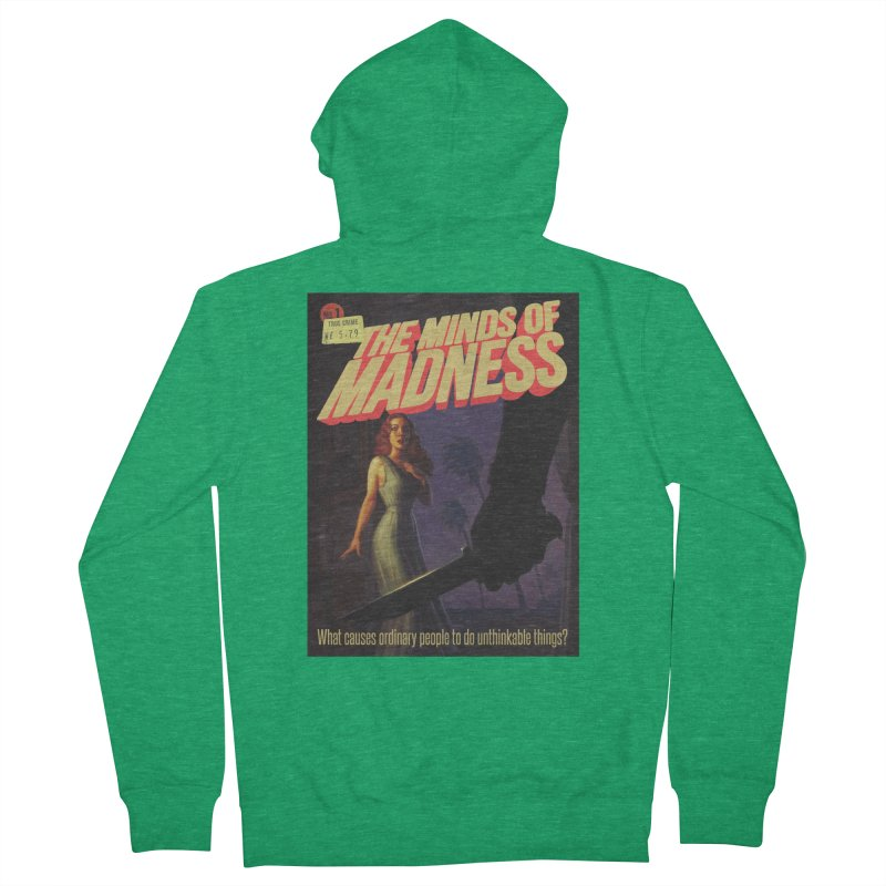 Choose items with -The Barney Art Women's French Terry Zip-Up Hoody by The Minds Of Madness Podcast