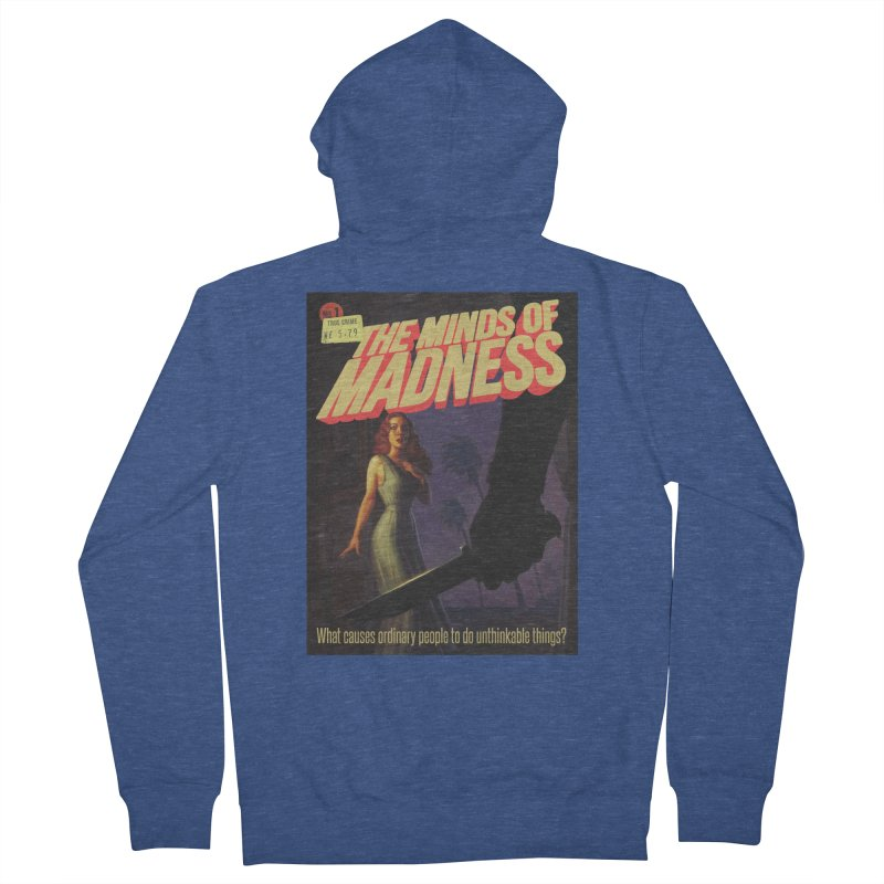 Choose items with -The Barney Art Men's French Terry Zip-Up Hoody by The Minds Of Madness Podcast