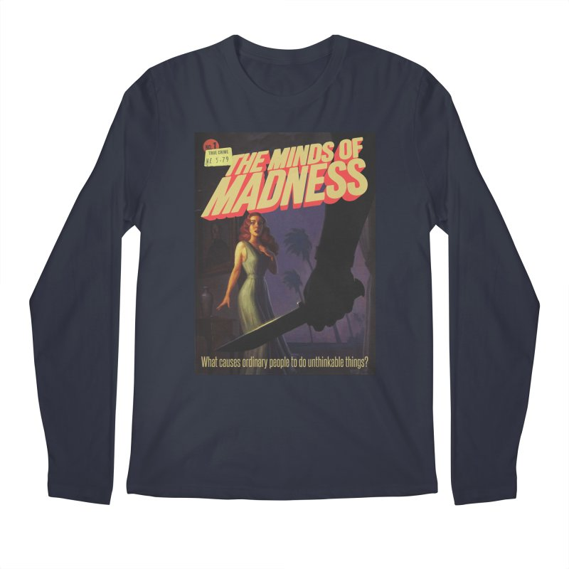 Choose items with -The Barney Art Men's Regular Longsleeve T-Shirt by The Minds Of Madness Podcast