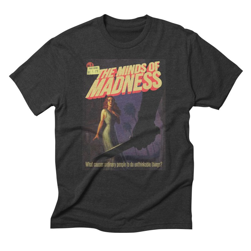 Choose items with -The Barney Art Men's Triblend T-Shirt by The Minds Of Madness Podcast