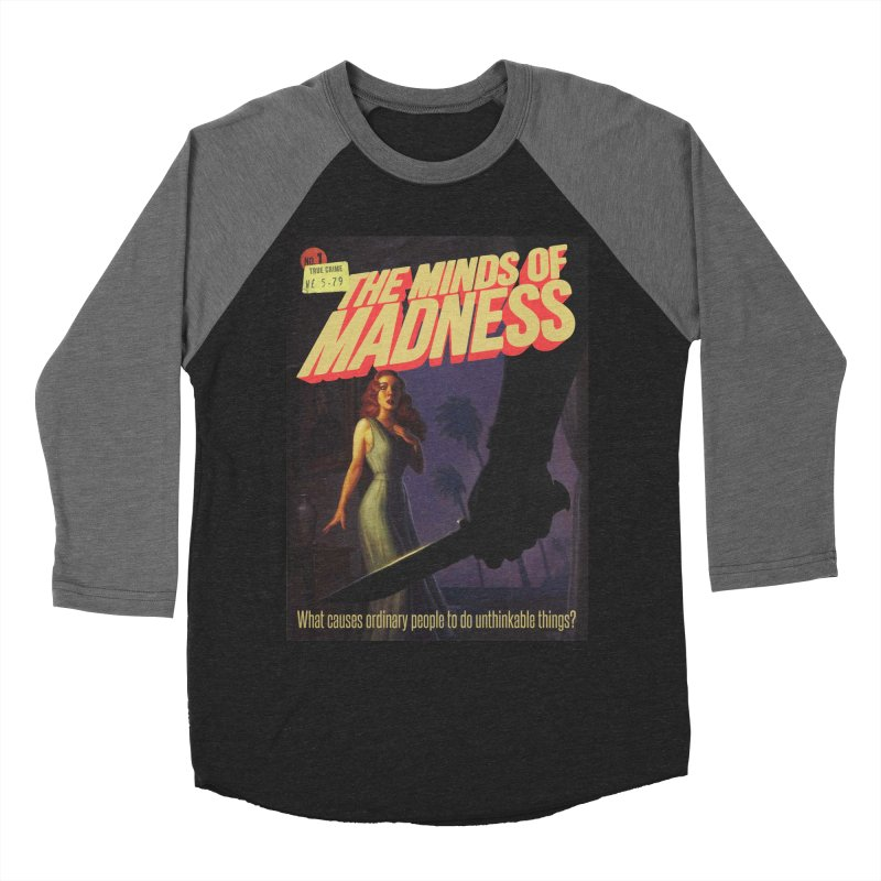 Choose items with -The Barney Art Women's Baseball Triblend Longsleeve T-Shirt by The Minds Of Madness Podcast
