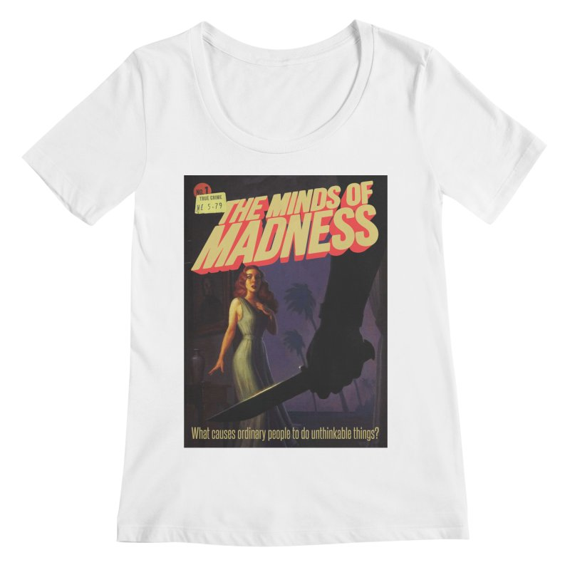 Choose items with -The Barney Art Women's Regular Scoop Neck by The Minds Of Madness Podcast