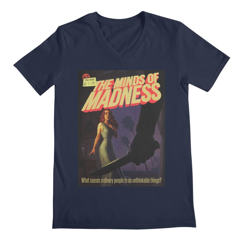 Choose items with -The Barney Art Men's Regular V-Neck by The Minds Of Madness Podcast
