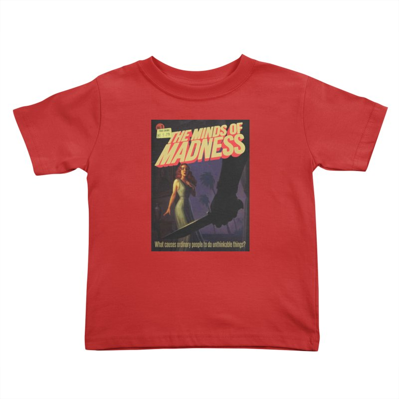 Choose items with -The Barney Art Kids Toddler T-Shirt by The Minds Of Madness Podcast