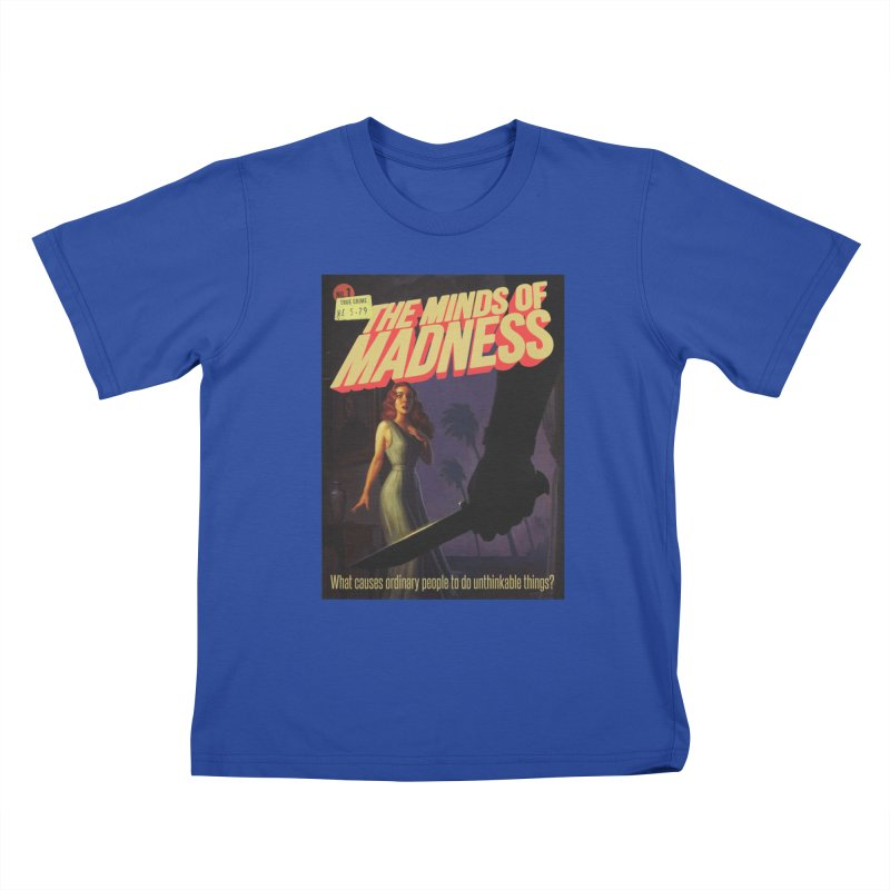 Choose items with -The Barney Art Kids T-Shirt by The Minds Of Madness Podcast