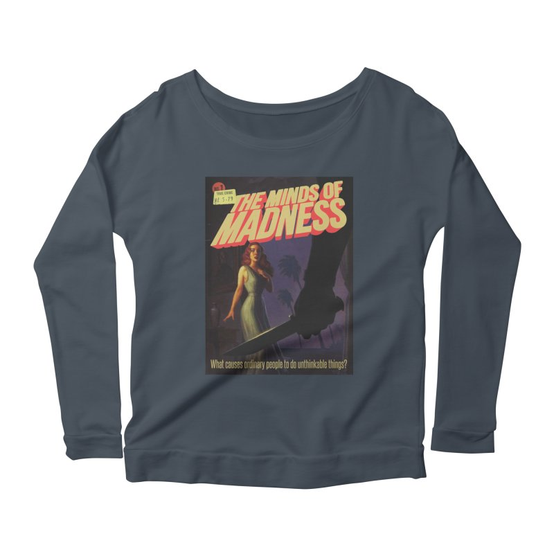 Choose items with -The Barney Art Women's Scoop Neck Longsleeve T-Shirt by The Minds Of Madness Podcast