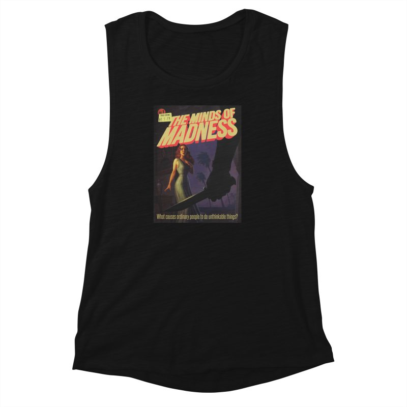 Choose items with -The Barney Art Women's Muscle Tank by The Minds Of Madness Podcast