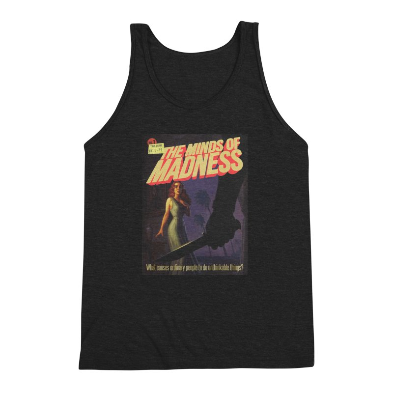 Choose items with -The Barney Art Men's Triblend Tank by The Minds Of Madness Podcast