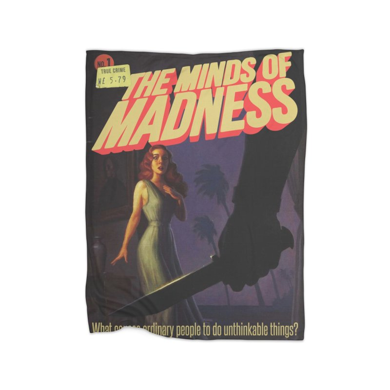 Choose items with -The Barney Art Home Fleece Blanket Blanket by The Minds Of Madness Podcast