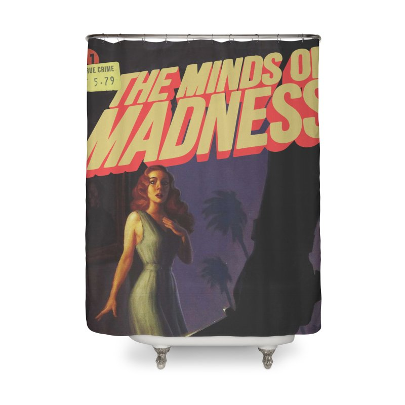 Choose items with -The Barney Art Home Shower Curtain by The Minds Of Madness Podcast