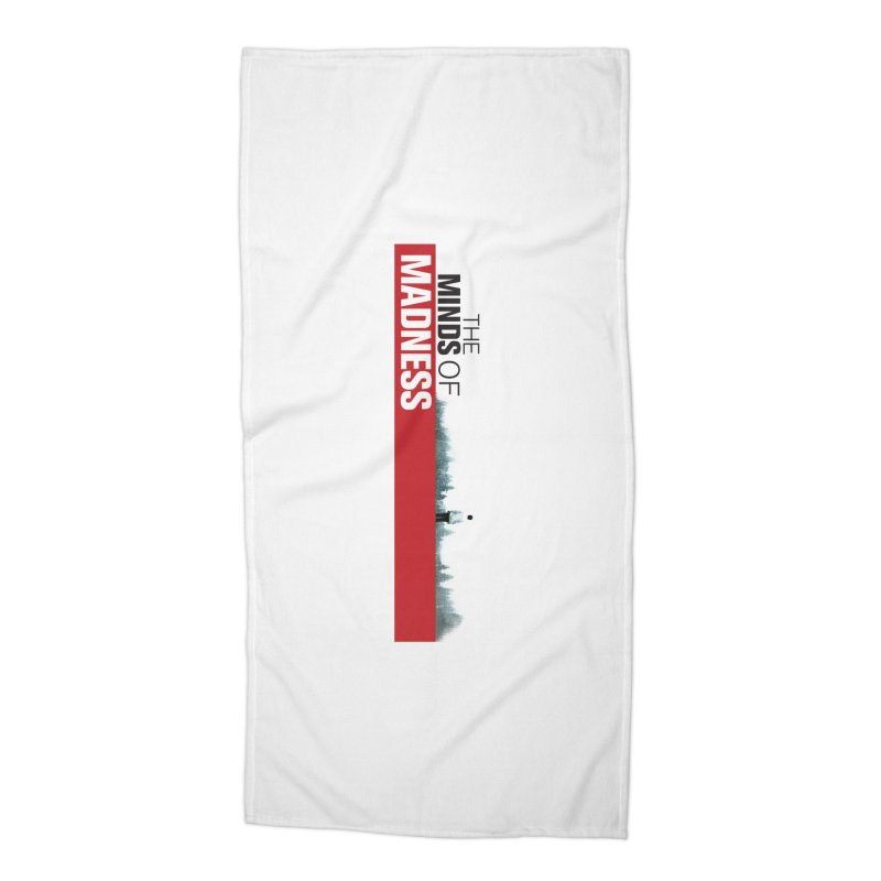 Choose items with - The Banner Accessories Beach Towel by The Minds Of Madness Podcast