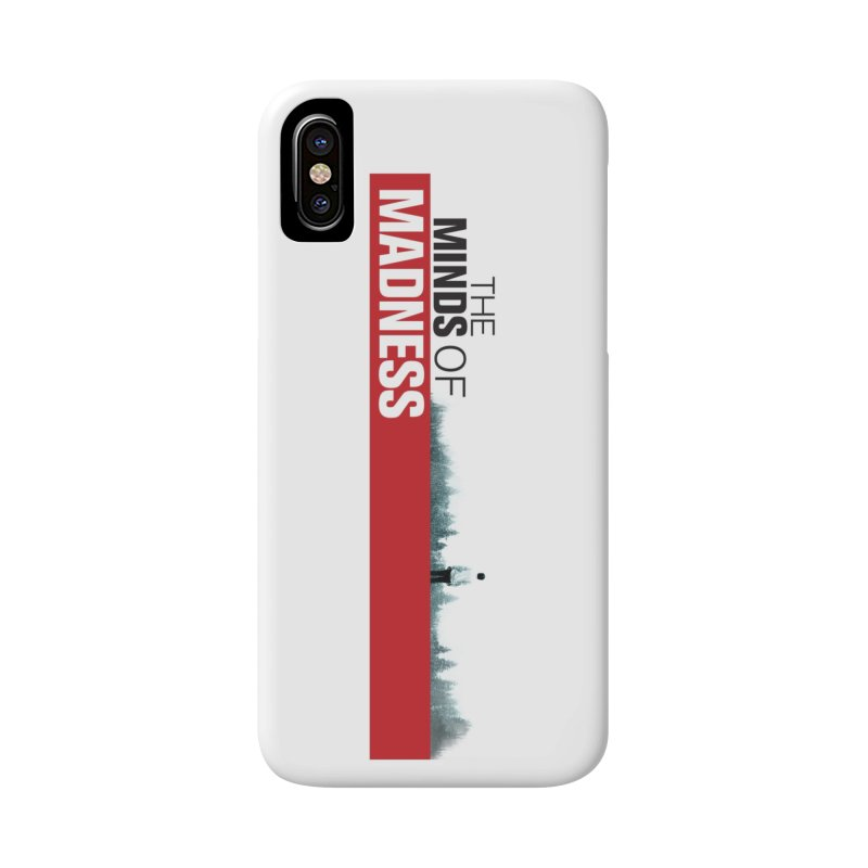 Choose items with - The Banner Accessories Phone Case by The Minds Of Madness Podcast