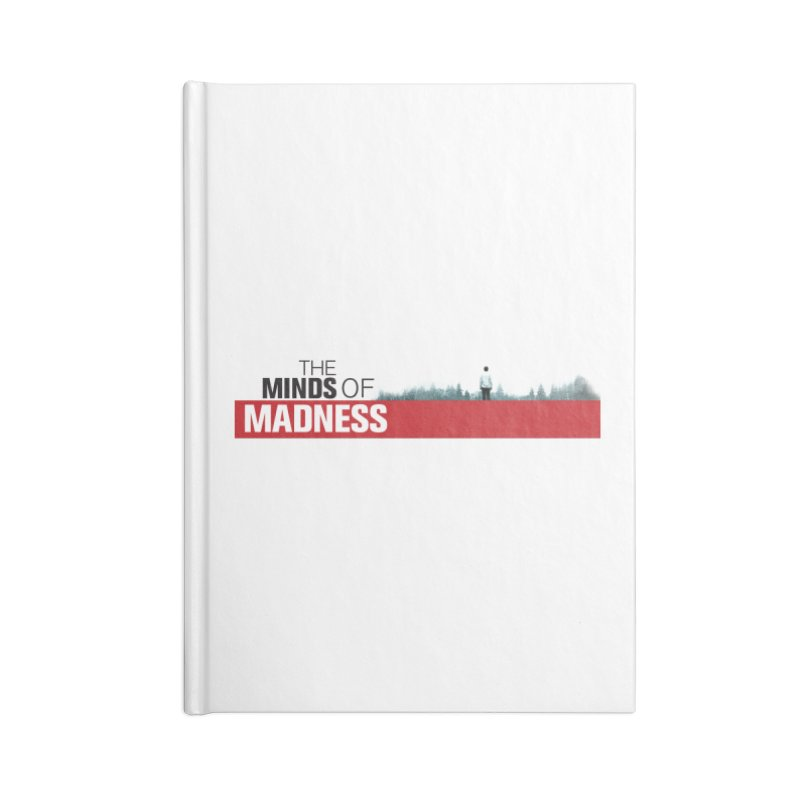 Choose items with - The Banner Accessories Blank Journal Notebook by The Minds Of Madness Podcast