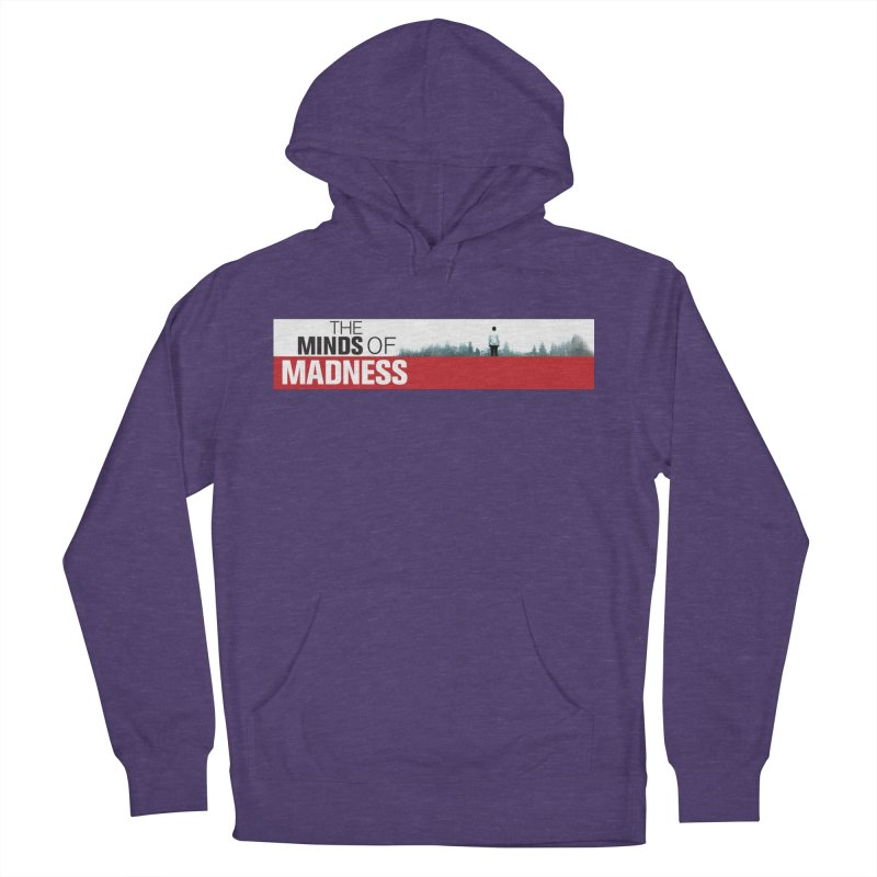 Choose items with - The Banner Women's French Terry Pullover Hoody by The Minds Of Madness Podcast