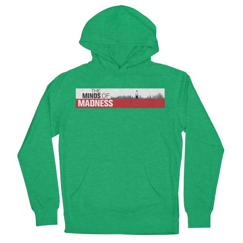 Choose items with - The Banner Men's French Terry Pullover Hoody by The Minds Of Madness Podcast
