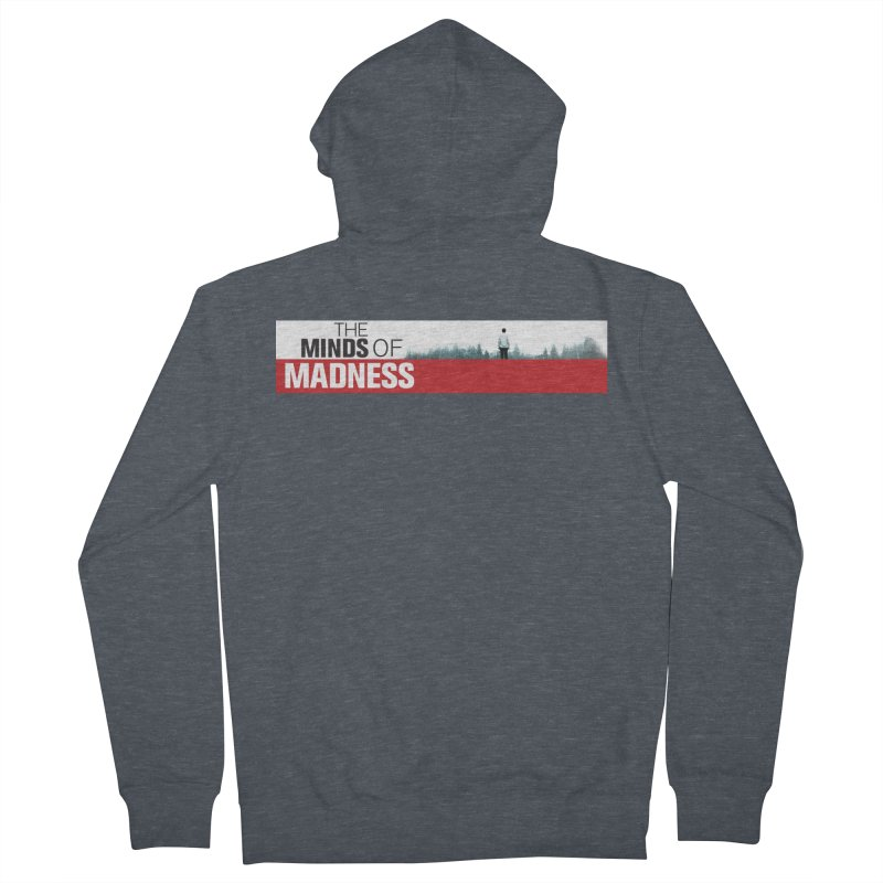 Choose items with - The Banner Women's French Terry Zip-Up Hoody by The Minds Of Madness Podcast